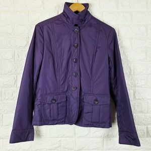 Weekend MaxMara Purple Light Puffer Jacket